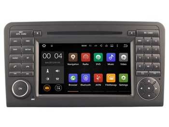 Android 7.1.1 Mercedez ML320 ML350 W164 2 GB için car DVD player 2005-2012 GL320 gps navi radyo ana üniteler multimedya teyp