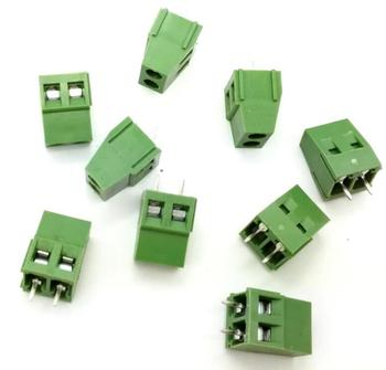 100 adet 2 Pin Vida Terminal Bloğu Connector 5mm Pitch G